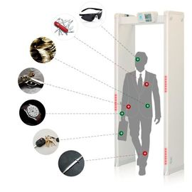 Easy Assembly Body Scanner Metal Detector, Walk Through Scanner 33 Zona Deteksi
