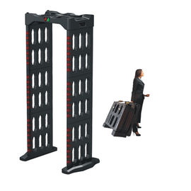 Portable Berjalan Melalui Body Metal Detector Archway Door Frame Machine AC110V ~ 240V