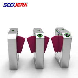 Smart Retractable Flap Barrier Gate Keamanan Pintu Masuk Subway Wing Gate