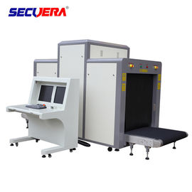 Cina Subway Luggage Inspection X Ray Security Scanner Memeriksa Mesin Penetrasi Baja 34mm pabrik