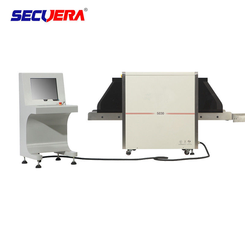0.22m / s Conveyor Speed ​​X Ray Baggage Scanner Dengan 170 - 250 KGS Conveyor Max pemasok